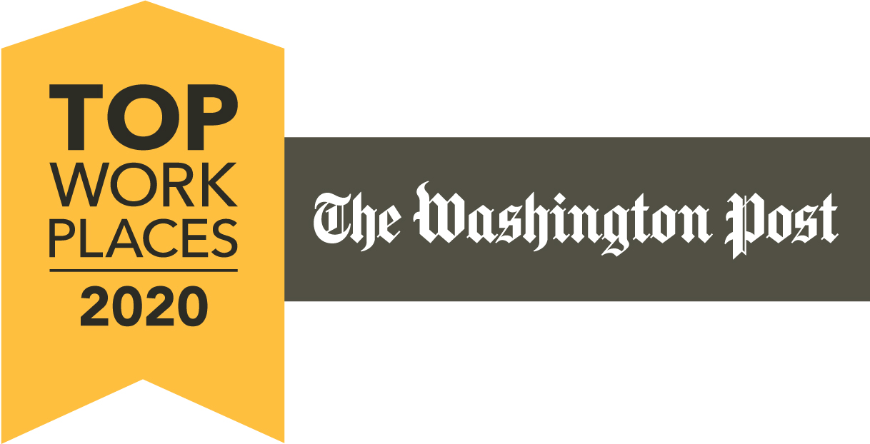 Washington Post's Top Work Places 2020 Icon