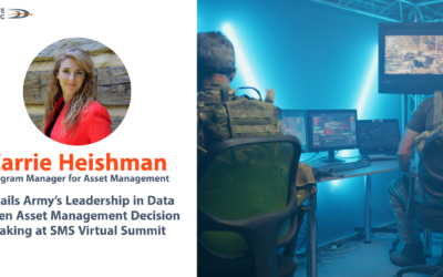 DL's Carrie Heishman details Army's leadership in data drive Asset Management decision making at SMS Virtual Summit